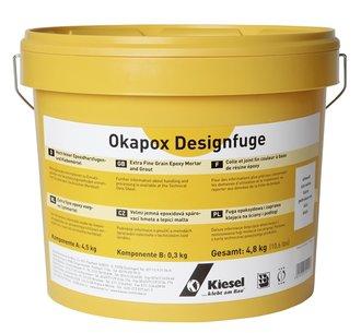 KIESEL Okapox FK302 Epoxidharz 5 Kg A+B Kleber Fuge,grau Wand U.Boden Nr.  14128   Www.kemmler.de