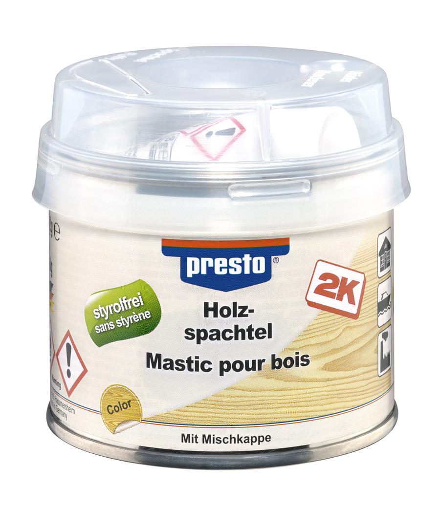 molto holz reparatur spachtel 330 g/tube, neutral, für innen und