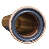 Osmose Steinzeug Rohr mit Steckmuffe L DN150 BL=1500 mm