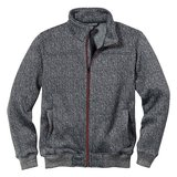 Scheibler Strickjacke Gray