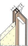Protektorwerk Anputzdichtleiste Bewegungskammer 2600x9 mm