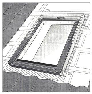VELUX Austausch Schwing Fenster VL Y23 0059
